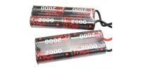 EnrichPower Batterie NiMh 9.6v 2000mAh Double Pack