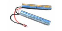 G&P Batterie NiMh 9,6V 1600mAh (Deans Large) SOPMOD