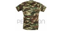 Pentagon Flatlock T-Shirt 100% Coton Greek Lizard