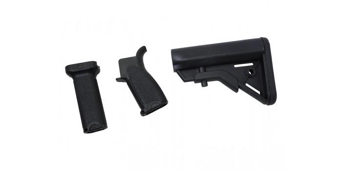 Airsoft : Dytac Kit Bravo Long pour M4 AEG (Black)