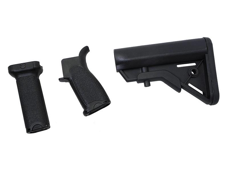 Dytac Kit Bravo Long pour M4 AEG (Black) | Airsoft Entrepot