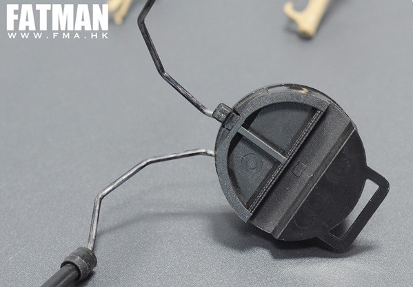 FMA Attaches pour Headset Type COMTAC (BK) | Airsoft Entrepot