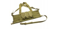 TMC Chest Rig M4 (Khaki)