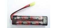 EnrichPower Batterie NiMh 9.6v 1600mAh