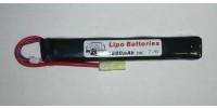 G&P Batterie LiPo 7,4V 1200mAh 30C (Tamiya Mini)