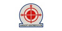Patch Airsoft Entrepot (Full Color)