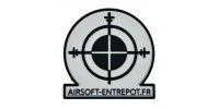 Patch Airsoft Entrepot (BK)
