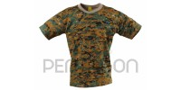 Pentagon Flatlock T-Shirt 100% Coton Marpat