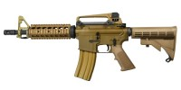 WE M4 CQB Open Bolt GBB Tan