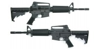 WE M4A1 Open Bolt GBB BK