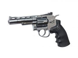 "ASG Revolver Dan Wesson 4"" NBB (Chrome)"