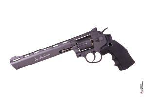 """ASG Revolver Dan Wesson 8"""" NBB (Basse Puissance / Noir)"""