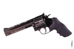 """ASG Revolver Dan Wesson 715 6"""" NBB (Steel Grey)"""
