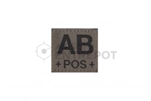 Clawgear Patch AB Positif