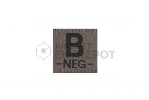 Clawgear Patch B Negatif