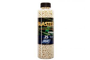 ASG Billes Traçantes Open Blaster 0.25g (Bouteille de 3300 Bbs/Vert)