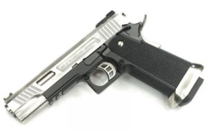 WE Hi-Capa 5.1 G-Force T-Rex Silver