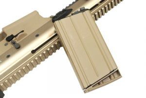 WE Chargeur MK17-H Open Bolt - Tan