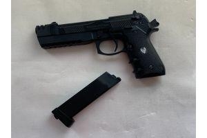 Occasion-HFC 92 Tactical Gaz avec Mallette (Noir)
