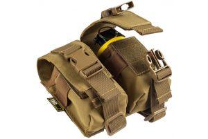 TAGInn Poche double grenades (Coyote)