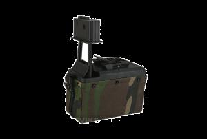 A&K Ammobox M249 (Woodland)