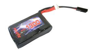 Kypom Batterie LiPo 11,1V 1300mAh 25C (Tamiya Mini) pour PEQ15