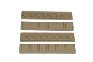 Element Lot De 4 Couvre-Rails Keymod Type B (Tan)