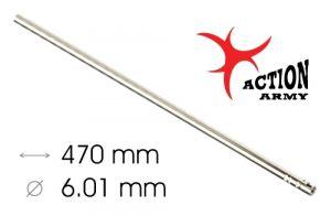 AAC Canon De Précision AEG/GBBR WE 6,01mm x 470mm