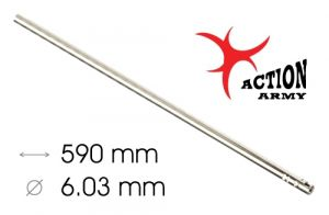 AAC Canon De Précision AEG/GBBR WE 6,03mm x 590mm