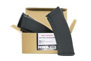 KWA Chargeur AKR AEG3 AK120c x3 (Noir)