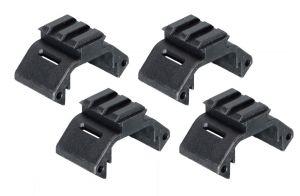Amoeba Sections Avec Rail Pour Garde-Main Modulaire (Noir)