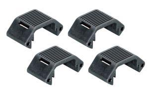 Amoeba Sections Plates Pour Garde-Main Modulaire (Noir)