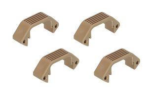 Amoeba Lot de Demi-Sections Plates Pour Garde-Main Modulaire (DE)