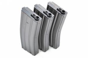 Box 3 chargeurs 120BBs pour M4 (gris)