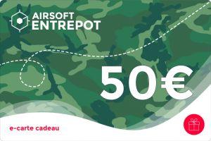 e-Carte Cadeau 50€