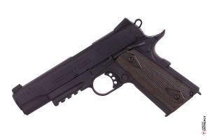 Colt 1911 Rail Gun Noir CO2