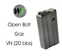 WE Chargeur M4/M16 GBBR Open Bolt VN (BK)