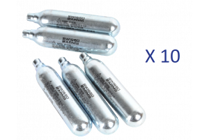 Lot de 10 Sparklettes de Co2 (Swiss Arms)