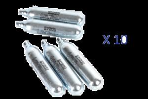 Lot de 10 Sparklettes de Co2 (Swiss Arms)