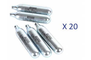 Lot de 20 Sparklettes de Co2 (Swiss Arms)