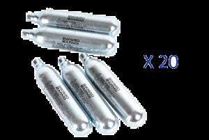 Lot de 20 Sparklettes de Co2 (Swiss Arms)