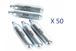 Lot de 50 Sparklettes de Co2 (Swiss Arms)