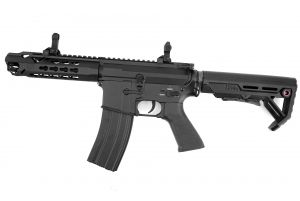 E&C M4 Lepoard AEG Courte (Noir)