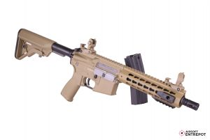 "Evolution Airsoft Recon UX4 9"" Carbontech (Tan)"
