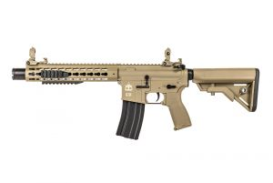 "Evolution Airsoft Recon UX4 10"" Amplified Carbontech (Tan)"