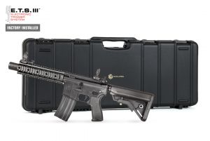 Evolution Airsoft Recon UX 9 Silent Ops Metal ETS III DX (Noir)