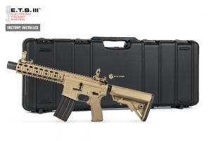 Evolution Airsoft Recon UX 9 Silent Ops Metal ETS III DX (Tan)