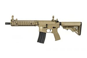 "Evolution Airsoft RECON MK18 MOD 1 10.8"" CARBONTECH (Tan)"