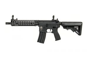 "Evolution Airsoft Recon MK18 Mod 1 10.8"" Carbontech (Noir)"