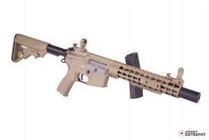 "Evolution Airsoft Recon S 10"" Silent Ops Carbontech (Tan)"